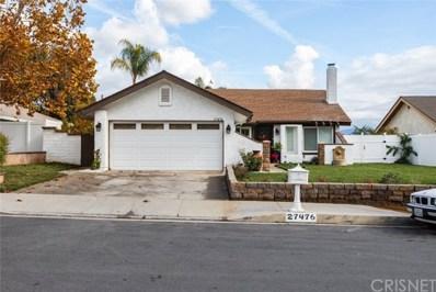 27476 Pamplico Drive, Valencia, CA 91354 - MLS#: SR19277300