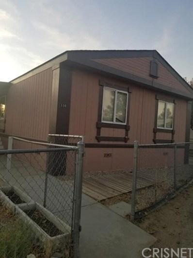 4209 W Rosamond Boulevard UNIT 116, Rosamond, CA 93560 - MLS#: SR19284102
