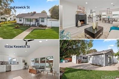 17232 Keswick Street, Lake Balboa, CA 91406 - MLS#: SR19284732