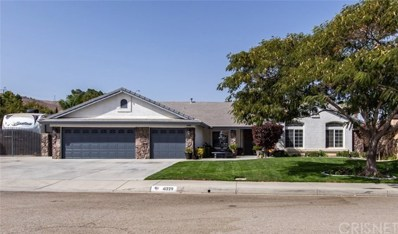 41229 Clayton Court, Palmdale, CA 93551 - MLS#: SR20003864