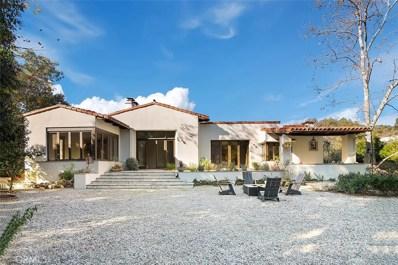 25732 Vista Verde Drive, Calabasas, CA 91302 - MLS#: SR20005463