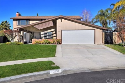 2551 Verda Court, Simi Valley, CA 93065 - MLS#: SR20010060