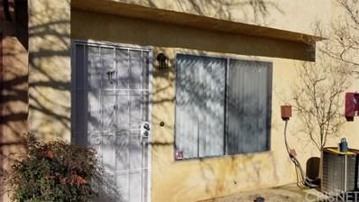1700 E Avenue Q14 UNIT 10, Palmdale, CA 93550 - MLS#: SR20018710