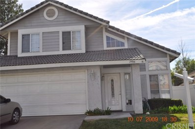 19916 Towhee Court UNIT 2, Canyon Country, CA 91351 - MLS#: SR20019634