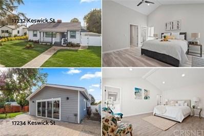17232 Keswick Street, Lake Balboa, CA 91406 - MLS#: SR20033318