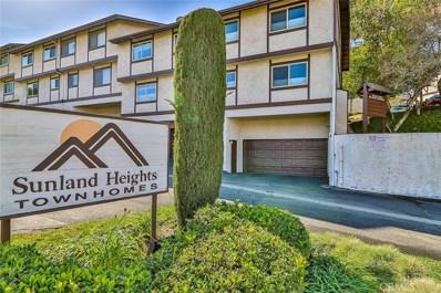 10480 Sunland Boulevard UNIT 18, Sunland, CA 91040 - MLS#: SR20038030