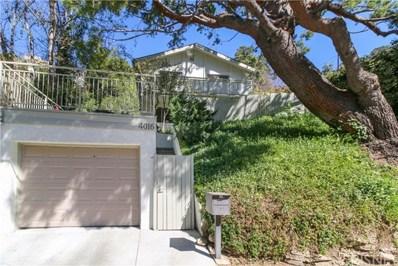 4016 Alta Mesa Drive, Studio City, CA 91604 - MLS#: SR20039952