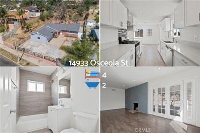 14933 Osceola Street, Sylmar, CA 91342 - MLS#: SR20066762