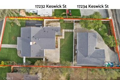 17232 Keswick Street, Lake Balboa, CA 91406 - MLS#: SR20090646