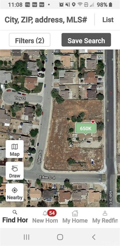 37017 45th Street E, Palmdale, CA 93552 - MLS#: SR20095885