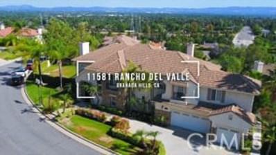 11581 Rancho Del Valle, Granada Hills, CA 91344 - #: SR20099188