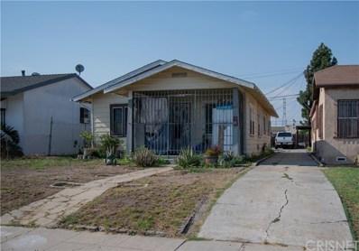 419 W 101st Street, Los Angeles, CA 90003 - MLS#: SR20169853