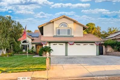 4712 Vitrina Lane, Palmdale, CA 93551 - MLS#: SR20184201