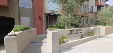 7551 Jordan Avenue UNIT 202, Canoga Park, CA 91303 - MLS#: SR21053291
