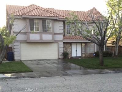 37105 Zinnia Street, Palmdale, CA 93550 - MLS#: SR21092461