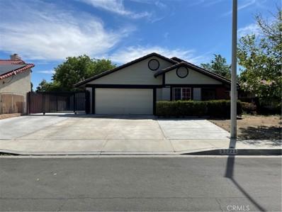 37722 Bristol Court, Palmdale, CA 93550 - MLS#: SR21096847