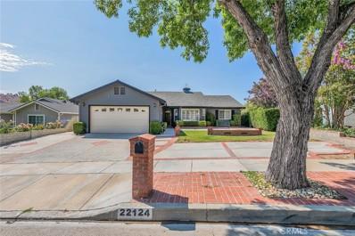 22124 Barbacoa Drive, Saugus, CA 91350 - MLS#: SR21117871