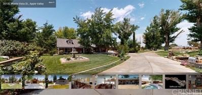 20130 Monte Vista Street, Apple Valley, CA 92308 - MLS#: SR21126070