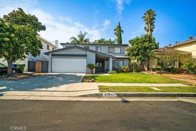 20241 Baltar Street, Winnetka, CA 91306 - MLS#: SR21156236