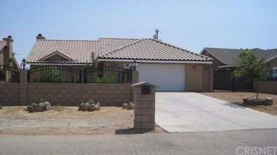 21124 Hugo Way, California City, CA 93505 - MLS#: SR21188292