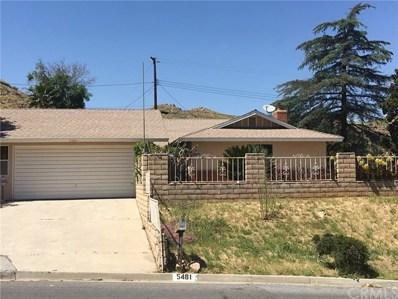 5481 Avenue Juan Bautista, Riverside, CA 92509 - MLS#: SW17105776