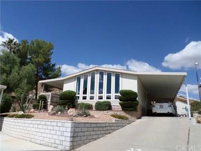 32600 State Highway 74 UNIT 37, Hemet, CA 92545 - MLS#: SW17172758