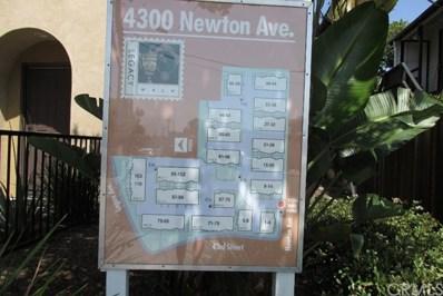 4300 Newton Avenue UNIT 57, San Diego, CA 92113 - MLS#: SW17244011