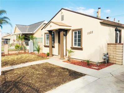 1022 Florence Avenue, Colton, CA 92324 - MLS#: SW17263633