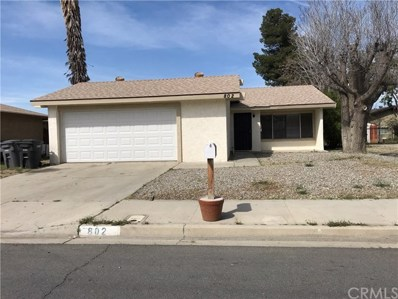802 S Miramar Avenue, San Jacinto, CA 92583 - MLS#: SW17263637