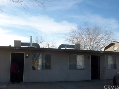 2537 Desert Street, Rosamond, CA 93560 - MLS#: SW17268629