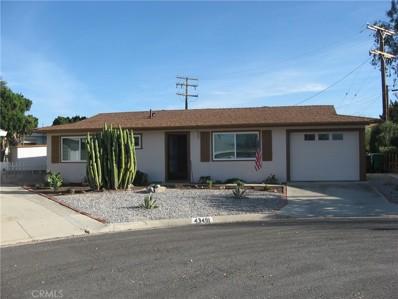 43491 Briercliff Drive, Hemet, CA 92544 - MLS#: SW18011398