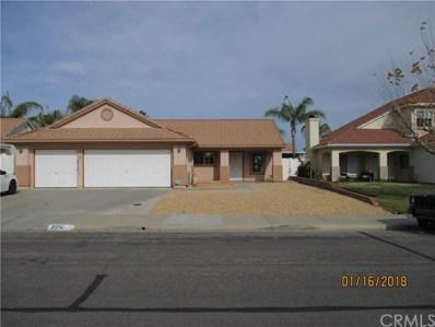 25750 Sunnyvale Court, Menifee, CA 92584 - MLS#: SW18016090