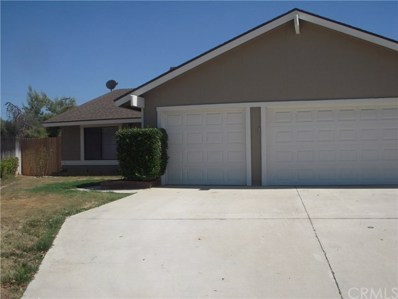 11608 Ridgecrest Lane, Moreno Valley, CA 92557 - MLS#: SW18018421