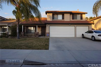 23452 Mountain Breeze Drive, Murrieta, CA 92562 - MLS#: SW18043654