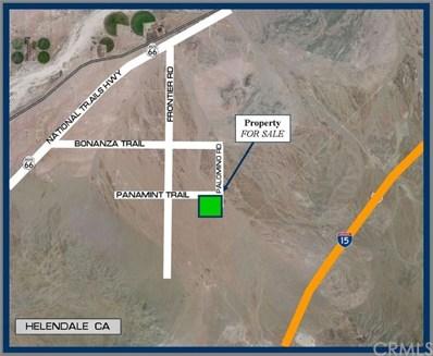 0 Panamint, Helendale, CA  - MLS#: SW18059924