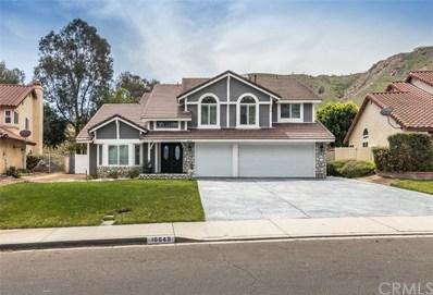 16649 Lake Knoll, Riverside, CA 92503 - MLS#: SW18075493