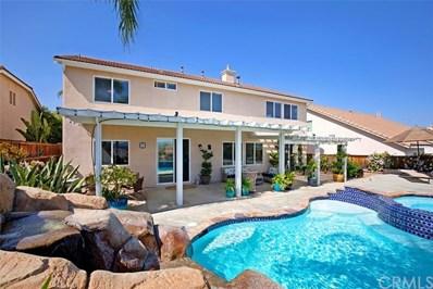 25207 Silverwood Lane, Menifee, CA 92584 - MLS#: SW18100999