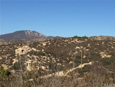 Lot 2 Golden Hills, Aguanga, CA 92536 - MLS#: SW18112956