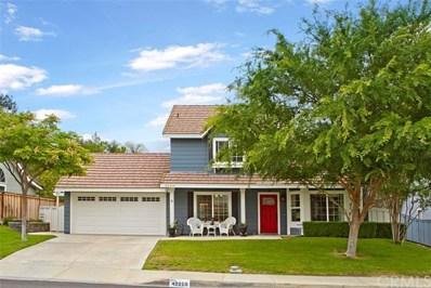 42210 Roanoake Street, Temecula, CA 92591 - MLS#: SW18121575