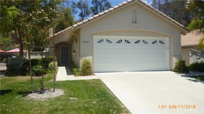 23861 Via Astuto, Murrieta, CA 92562 - MLS#: SW18144666