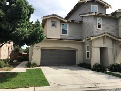 41536 Blue Canyon Avenue UNIT 1, Murrieta, CA 92562 - MLS#: SW18152374