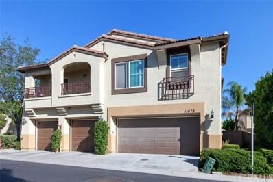 41679 Wild Iris Avenue UNIT 3, Murrieta, CA 92562 - MLS#: SW18160404
