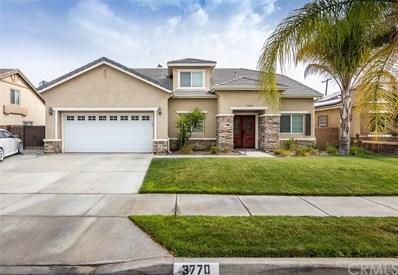 3770 Serenade Street, Hemet, CA 92545 - MLS#: SW18164752