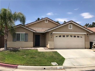 137 Estancia Way, Hemet, CA 92545 - MLS#: SW18173909