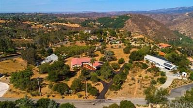 1650 Santa Margarita Drive, Fallbrook, CA 92028 - MLS#: SW18188228