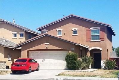 2247 Jornada Drive, Perris, CA 92571 - MLS#: SW18210192