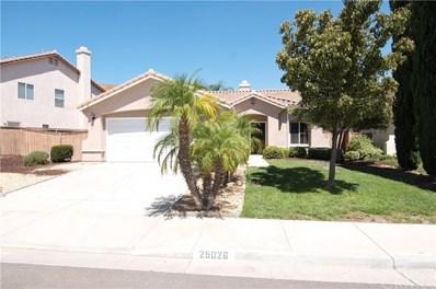 25026 Wooden Gate Drive, Menifee, CA 92584 - MLS#: SW18226935