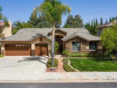 43824 Barletta Street, Temecula, CA 92592 - MLS#: SW18230229