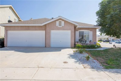 3393 Double Butte Street, Hemet, CA 92545 - MLS#: SW18235588