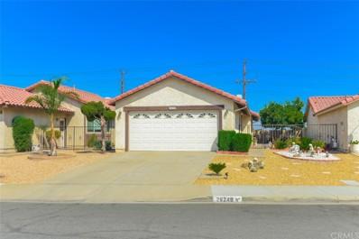 26248 Sunnywood Street, Menifee, CA 92586 - MLS#: SW18235700